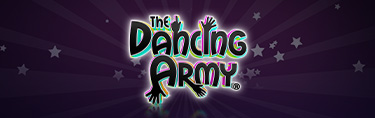 The Dancing Army -  Customise yourself, paint your body, face and hair, learn the choreography and start dancing!