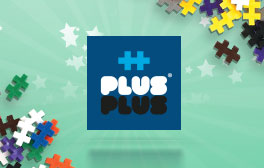 Plus Plus - One shape building bricks